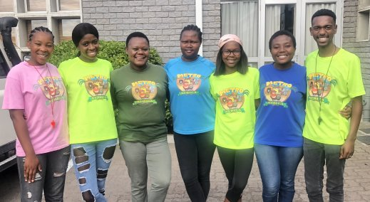 Metro Kids Africa team in South Africa